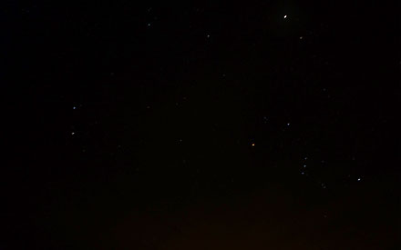 Night Sky in Orillia
