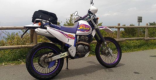 My baby TTR 250 Raid in Hakone